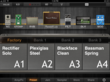 JamUp users can save effect configurations as presets that can be shared with other JamUp users